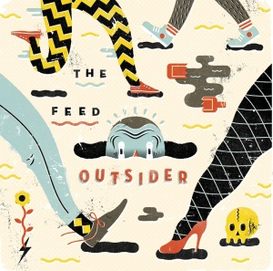 The Feed - Outsider Album Cover