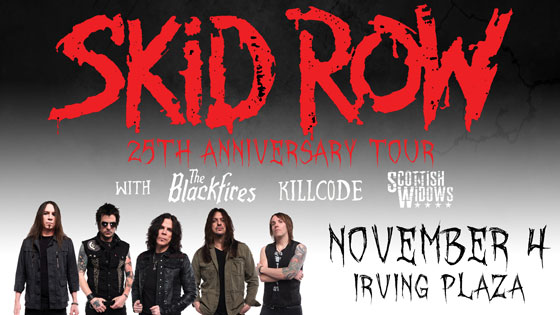 Skid Row, 30 Years, Irving Plaza