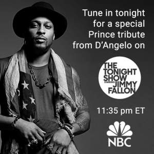 D'Angelo on The Tonight Show promo ad