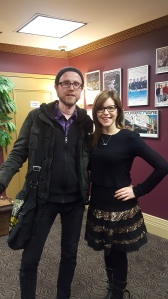 Myself and Lisa Loeb, Boulton Center 03/30/17