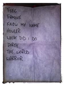 Sate setlist 2.05.19 Berlin NYC